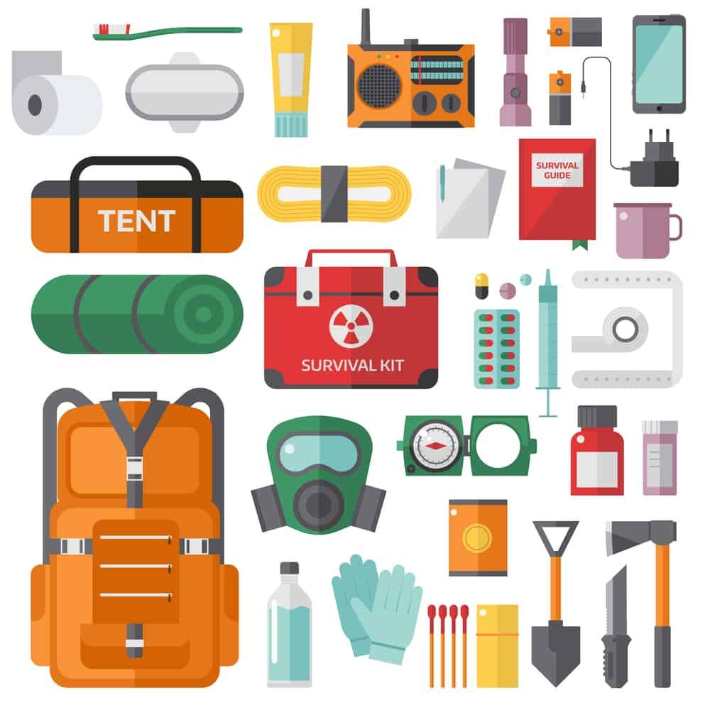 Packliste für den Notfallrucksack